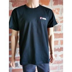 T-shirt 180g noir HAFA
