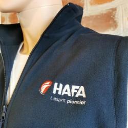 Casquette 100% coton brossé HAFA 2016 - lot de 10